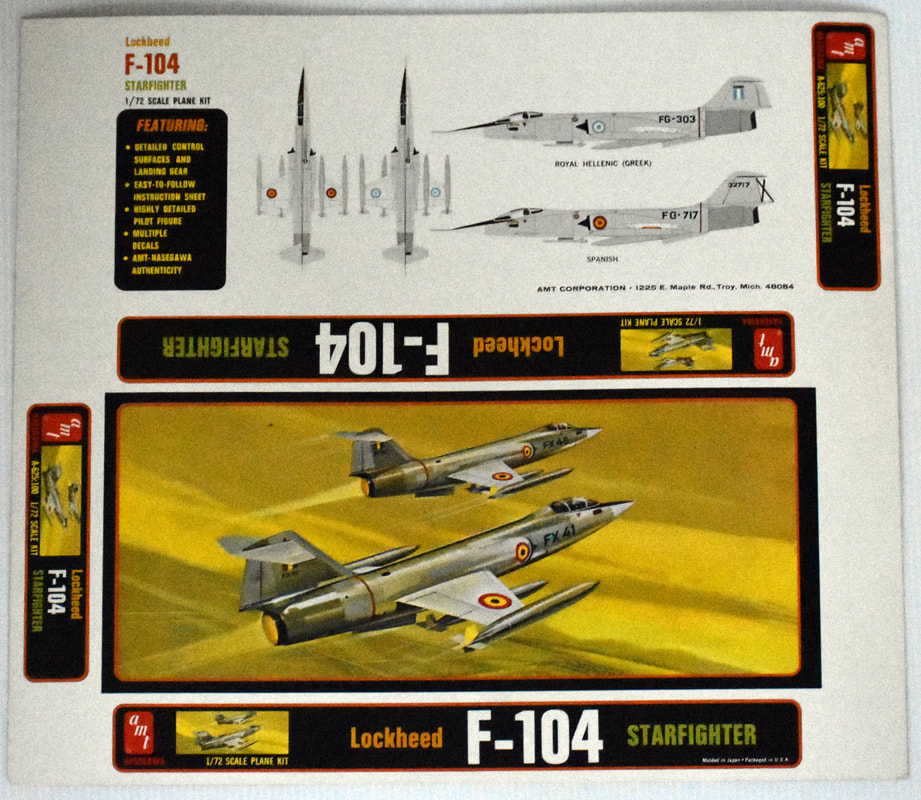 Otto Kuhni Artwork - Early Commercial Works - Lockheed F-104