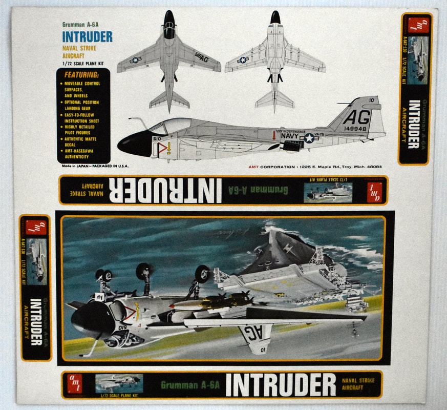 Otto Kuhni Artwork - Early Commercial Works - AMT - Intruder