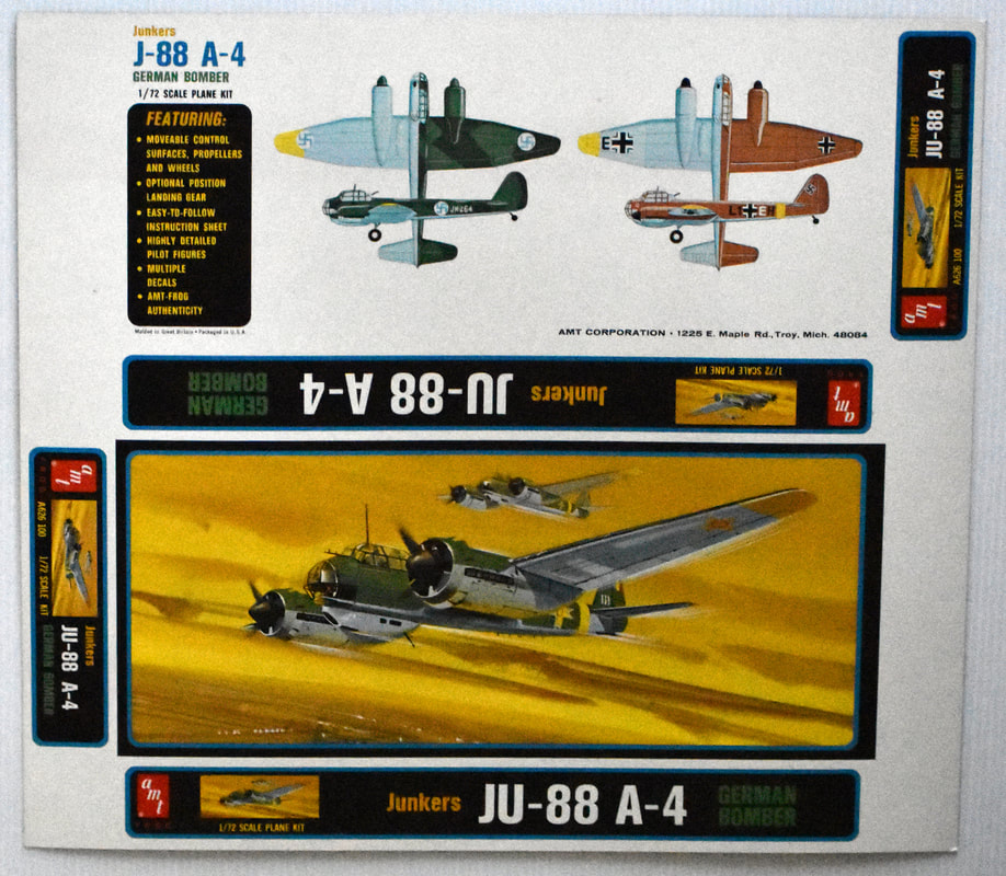 Otto Kuhni Artwork - Early Commercial Works - AMT - JU-88 A-4