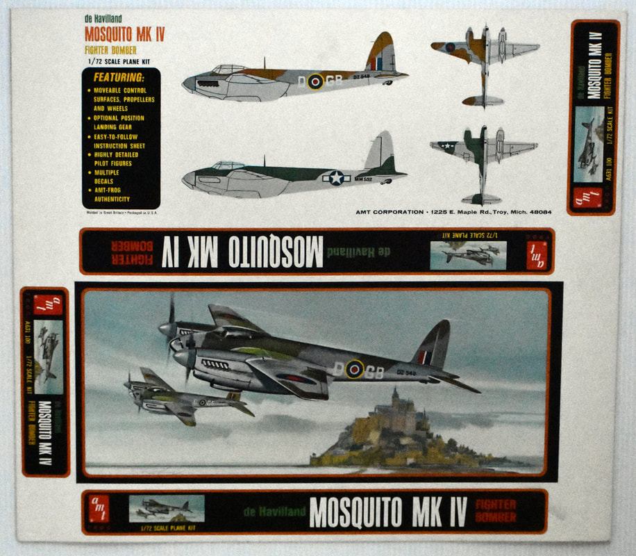 Otto Kuhni Artwork - Early Commercial Works - Mosquito
