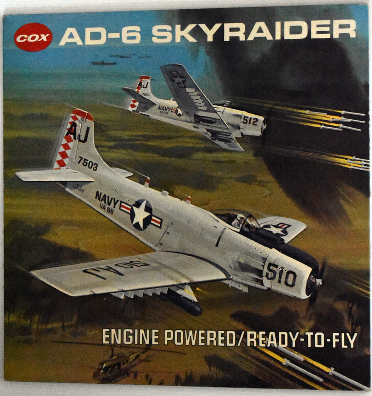 Otto Kuhni Artwork - Early Commercial Works - Cox - AD-6 Skyraider