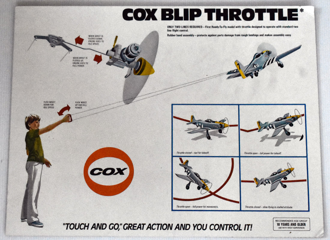 Otto Kuhni Artwork - Early Commercial Works - Cox - Blip Throttle