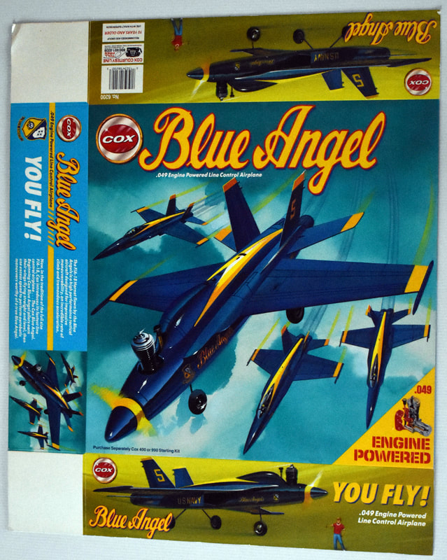Otto Kuhni Artwork - Early Commercial Works - Cox - Blue Angel