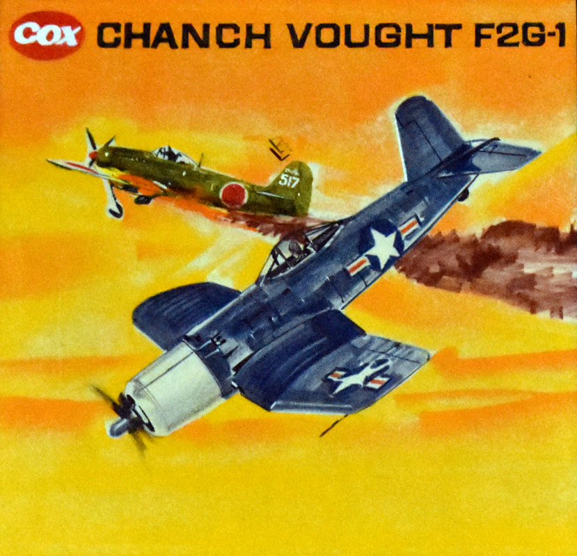 Otto Kuhni Artwork - Cox - Chanch Vought F2G-1