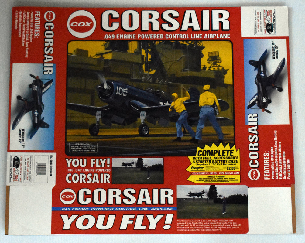 Otto Kuhni Artwork - Early Commercial Works - Cox Corsair