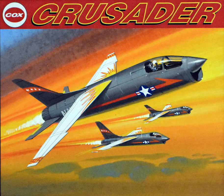 Otto Kuhni Artwork - Cox - Crusader