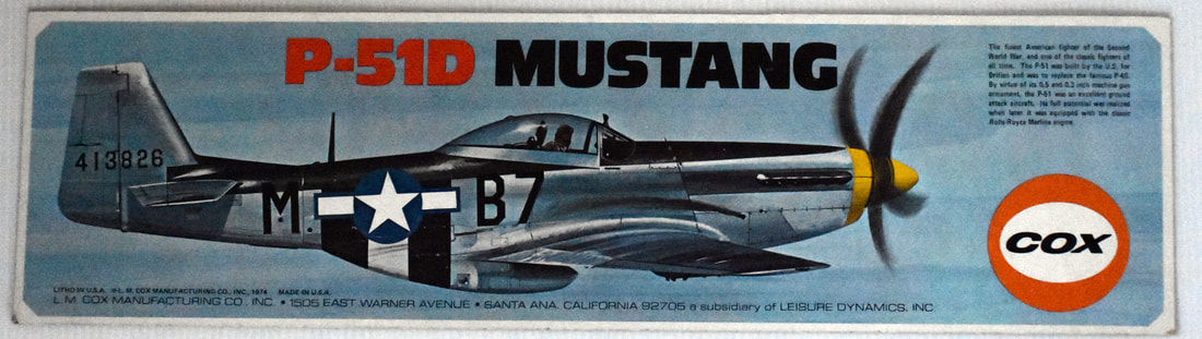 Otto Kuhni Artwork - Early Commercial Works - Cox - P-52 Mustang