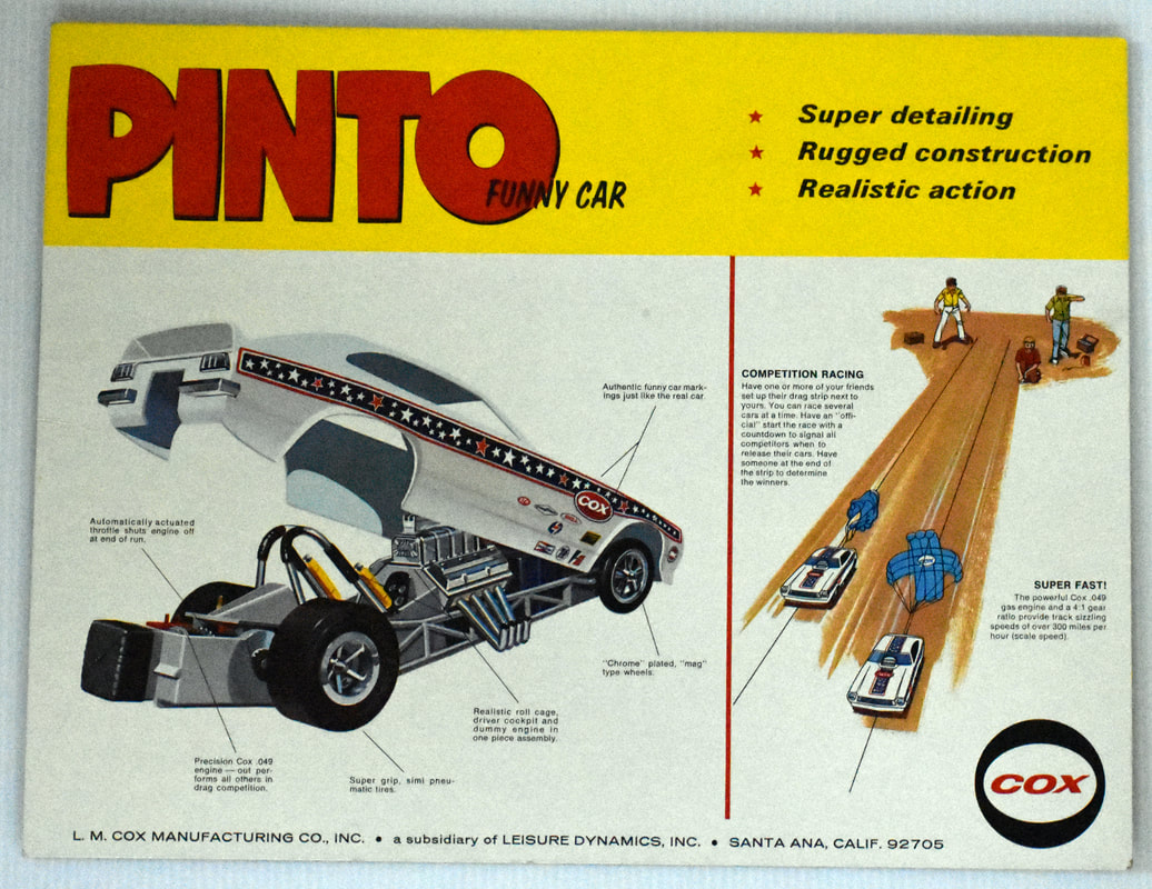 Otto Kuhni Artwork - Early Commercial Works - Cox - Pinto Funny Car
