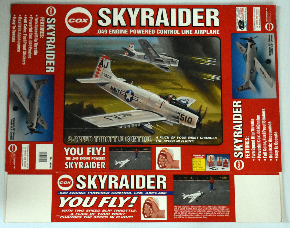 Otto Kuhni Artwork - Early Commercial Works - Cox - Skyraider