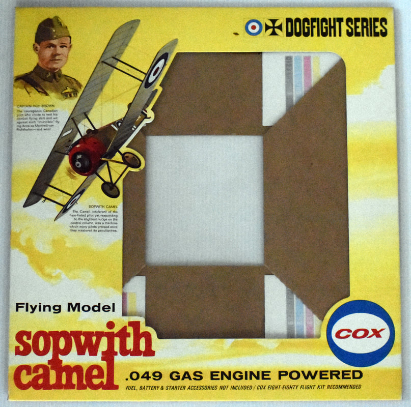 Otto Kuhni Artwork - Early Commercial Works - Cox Sopwith Camel