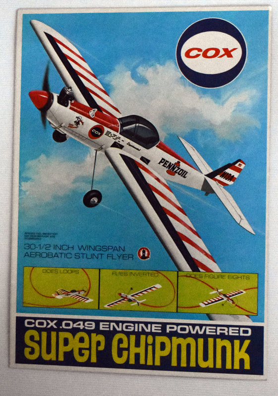 Otto Kuhni Artwork - Early Commercial Works - Cox - Super Chipmunk