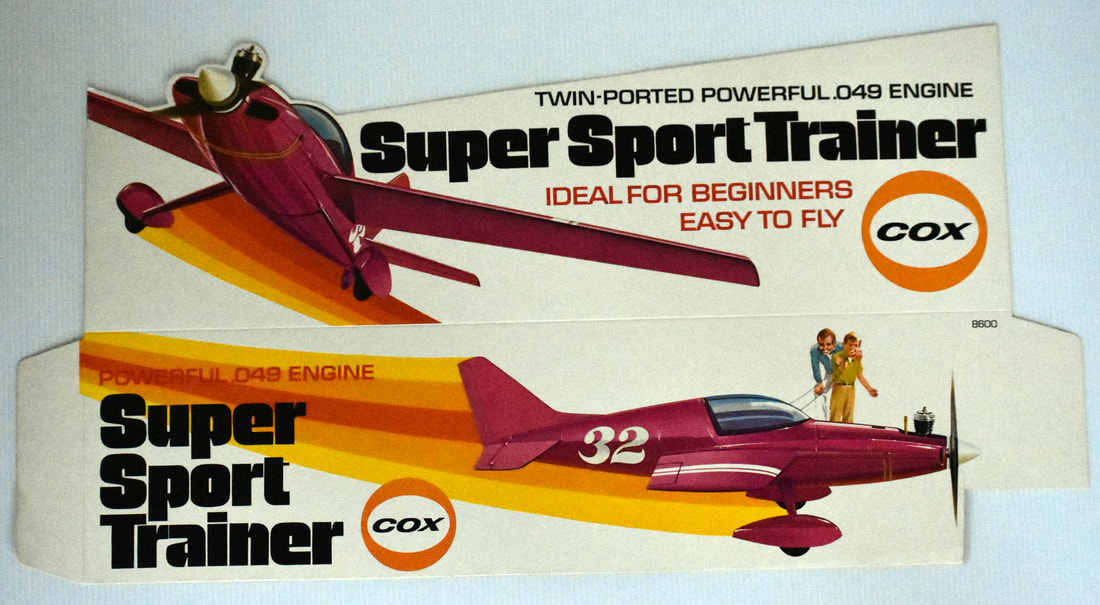 Otto Kuhni Artwork - Early Commercial Works - Cox - Super Sport Trainer