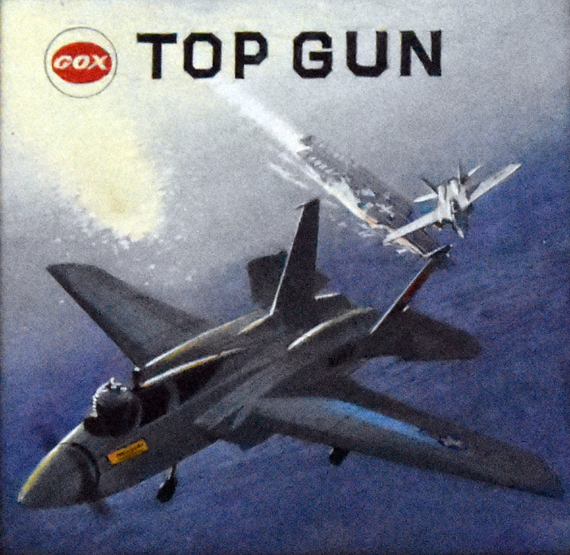 Otto Kuhni Artwork - Cox - Top Gun