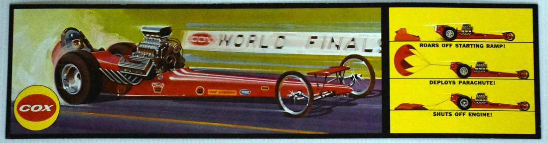 Otto Kuhni Artwork - Early Commercial Works - Cox - World Finals Racer