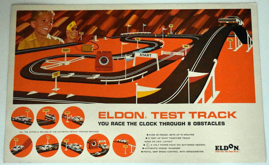 Otto Kuhni Artwork - Early Commercial Works - Eldon Test Track