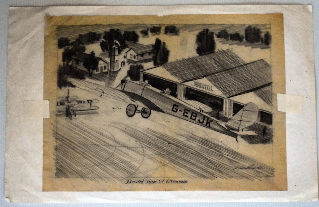 Otto Kuhni Artwork - Bristol Type A Brownie