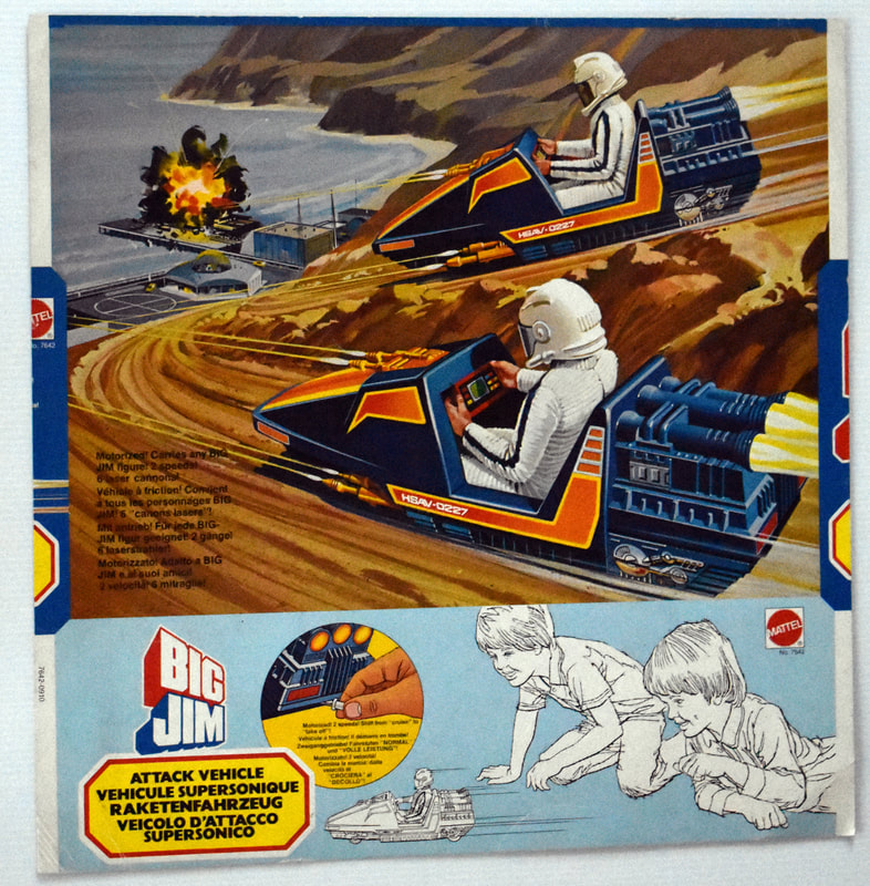 Otto Kuhni Artwork - Mattel - Big Jim Attack Vehicle