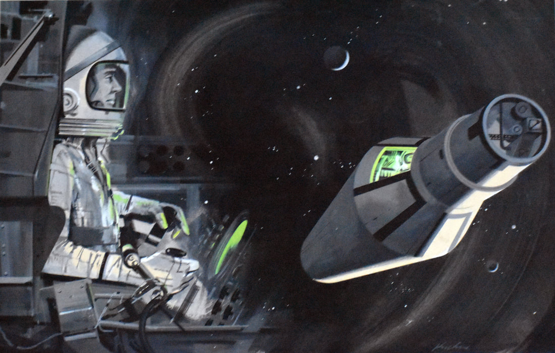 Otto Kuhni Artwork - Paintings - Space