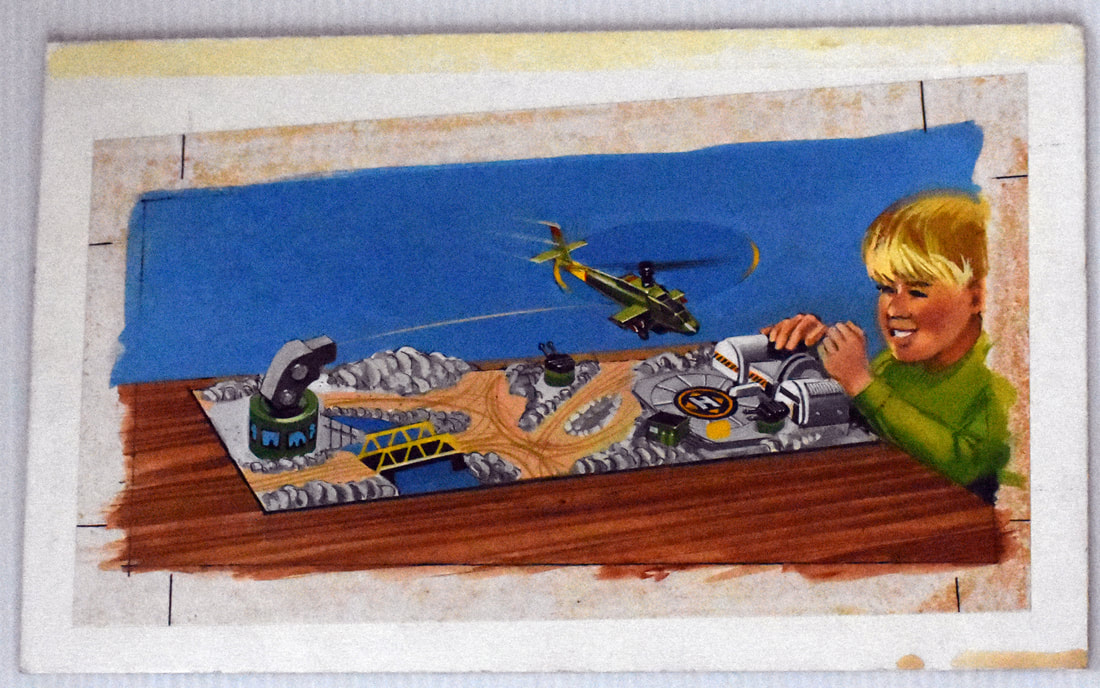Otto Kuhni Artwork - Painting - Helicopter Game