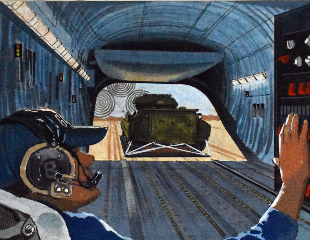 Otto Kuhni Artwork - Paintings - Tank