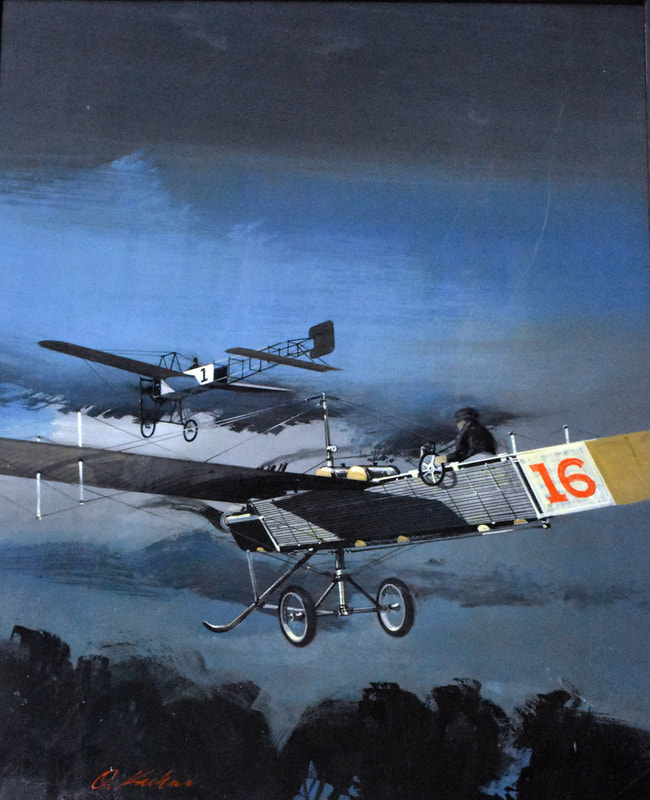 Otto Kuhni Artwork - Planes 16