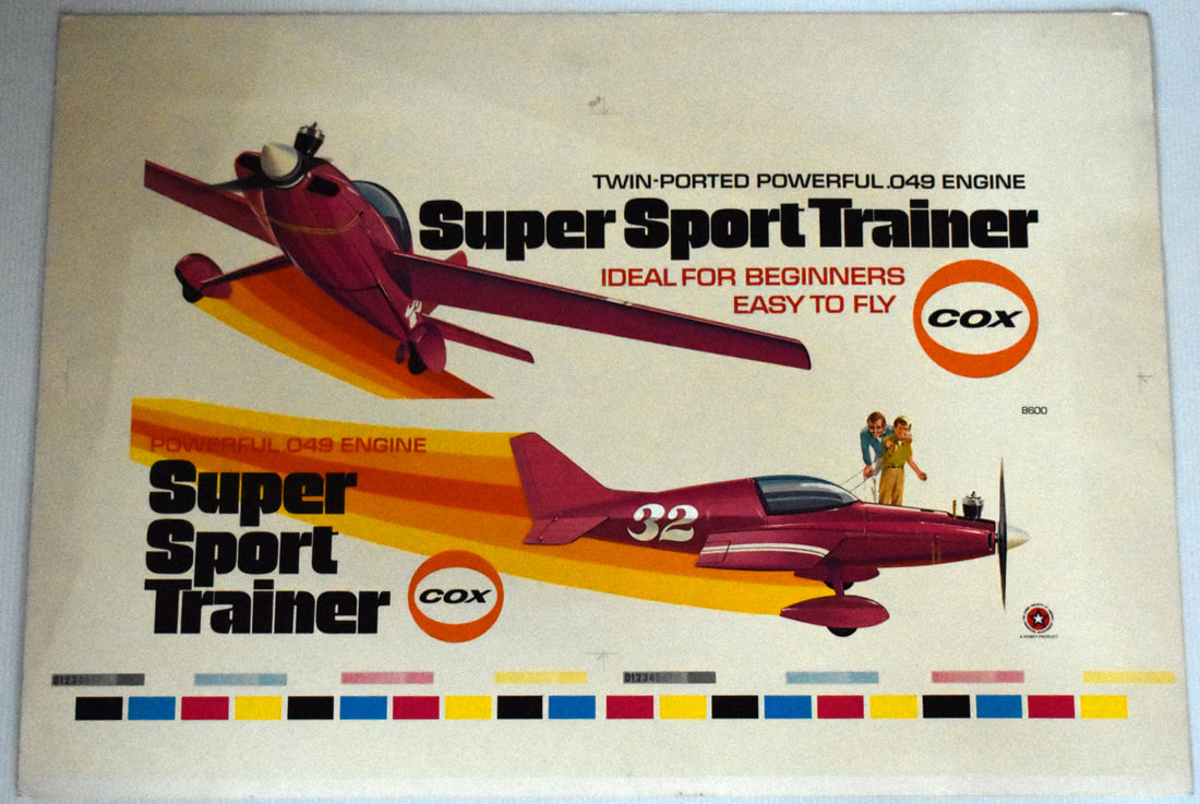 Otto Kuhni Artwork - Printer's Proof - Super Sport Trainer