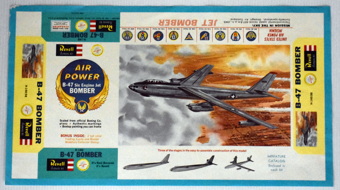 Otto Kuhni Artwork - Early Commercial Works - Revell - B-47 Bomber