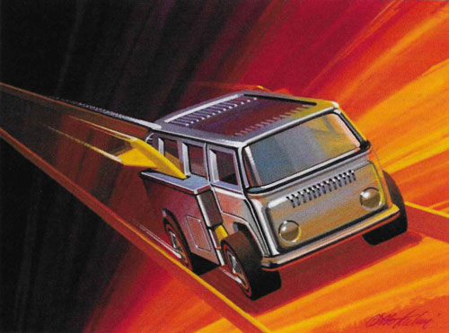 Otto Kuhni Artwork - Hot Wheels Related