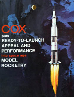 Otto Kuhni Artwork - Cox Model Rocketry