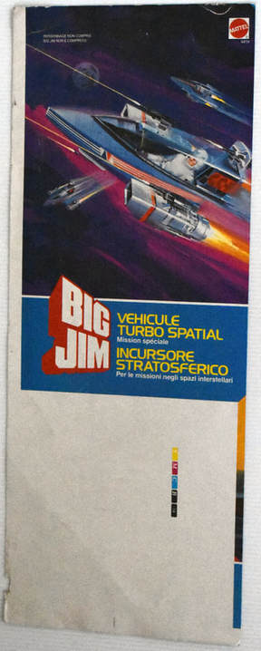 Otto Kuhni Artwork - Printer's Proofs - Big Jim Vehicle Turbo Spatial